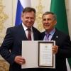Ринат Багаутдинов и Рустам Минниханов