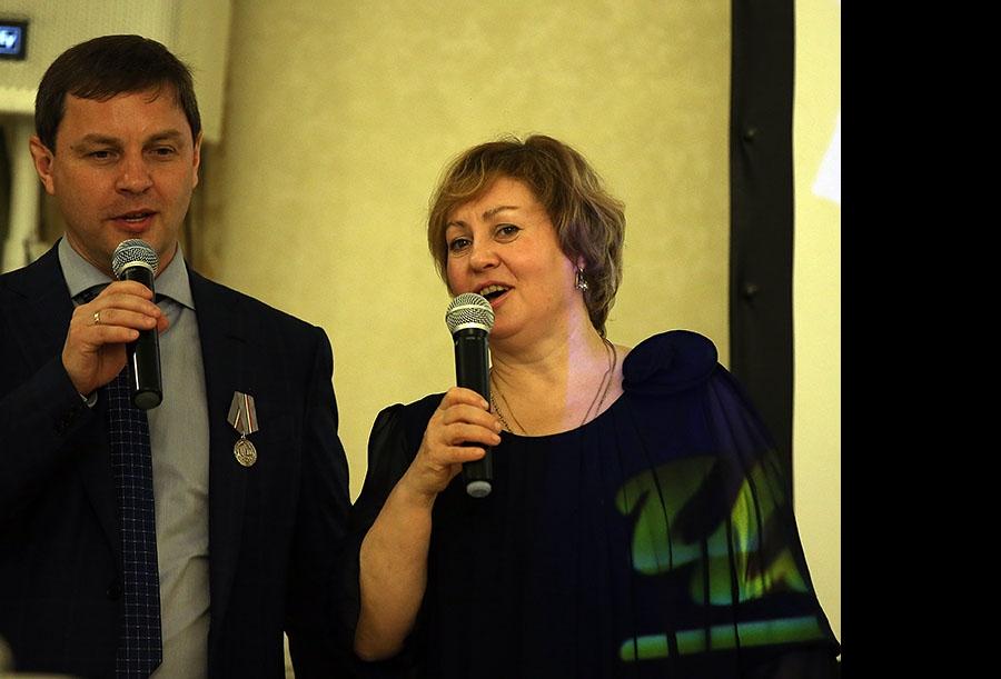 Олег Брызгалов и Марина Кудрявцева