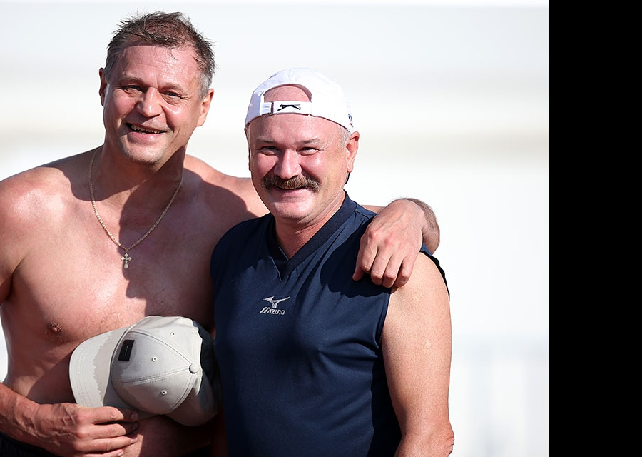 Александр Cеребренников и Рамис Шириязданов