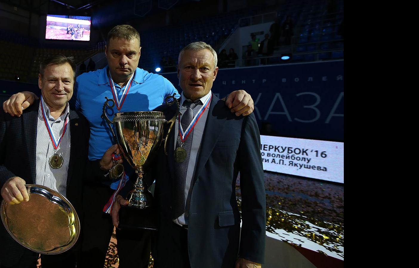 Ринат Багаутдинов, Владимир Алекно и Ильхам Рахматуллин