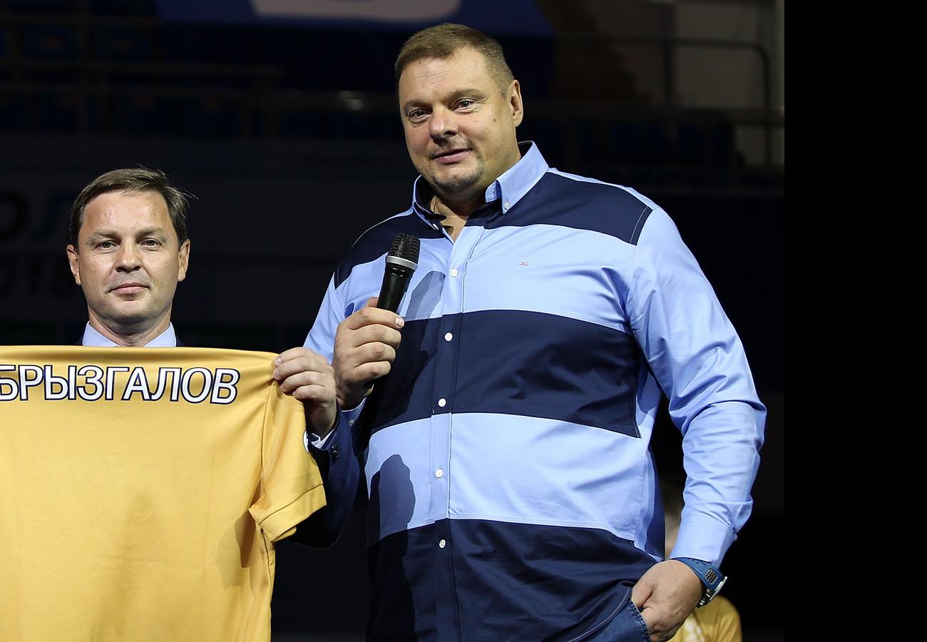 Олег Брызгалов и Владимир Алекно