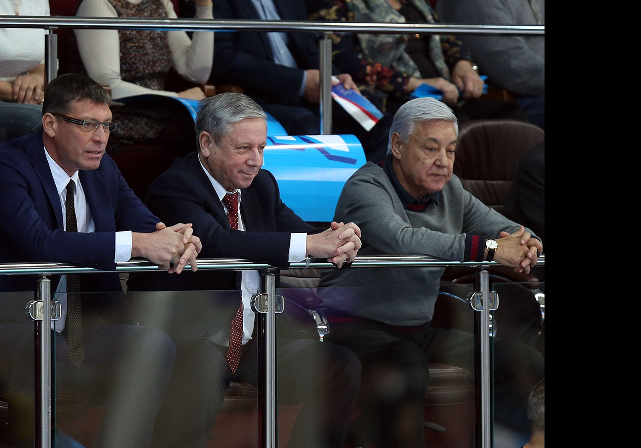 Александр Яременко, Рафкат Кантюков и Фарид Мухаметшин