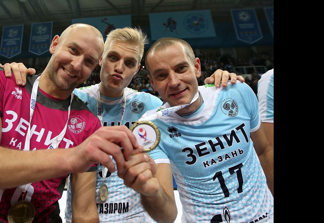 Алексей Вербов, Лоран Алекно и Владислав Бабичев
