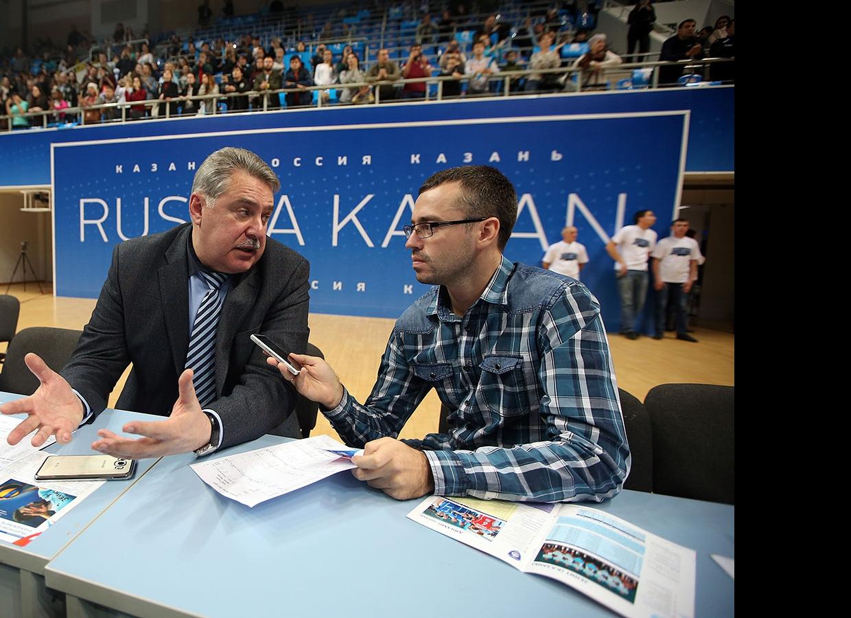 Сергей Шляпников и Алмаз Хаиров