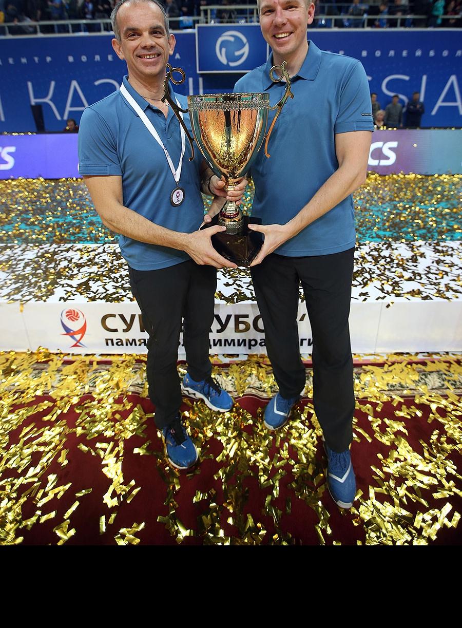Томазо Тотоло и Дмитрий Соснин