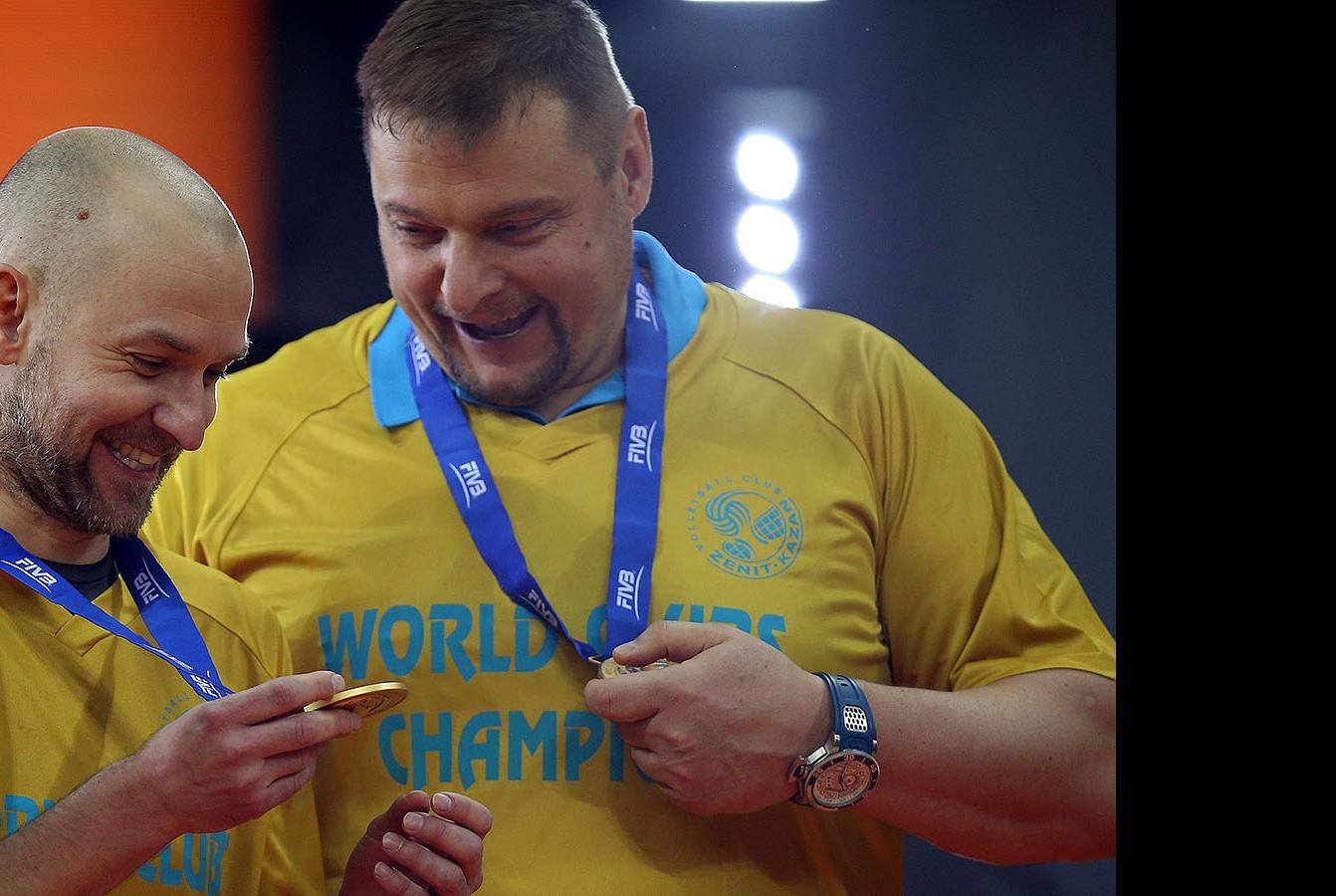 Алексей Вербов и Владимир Алекно