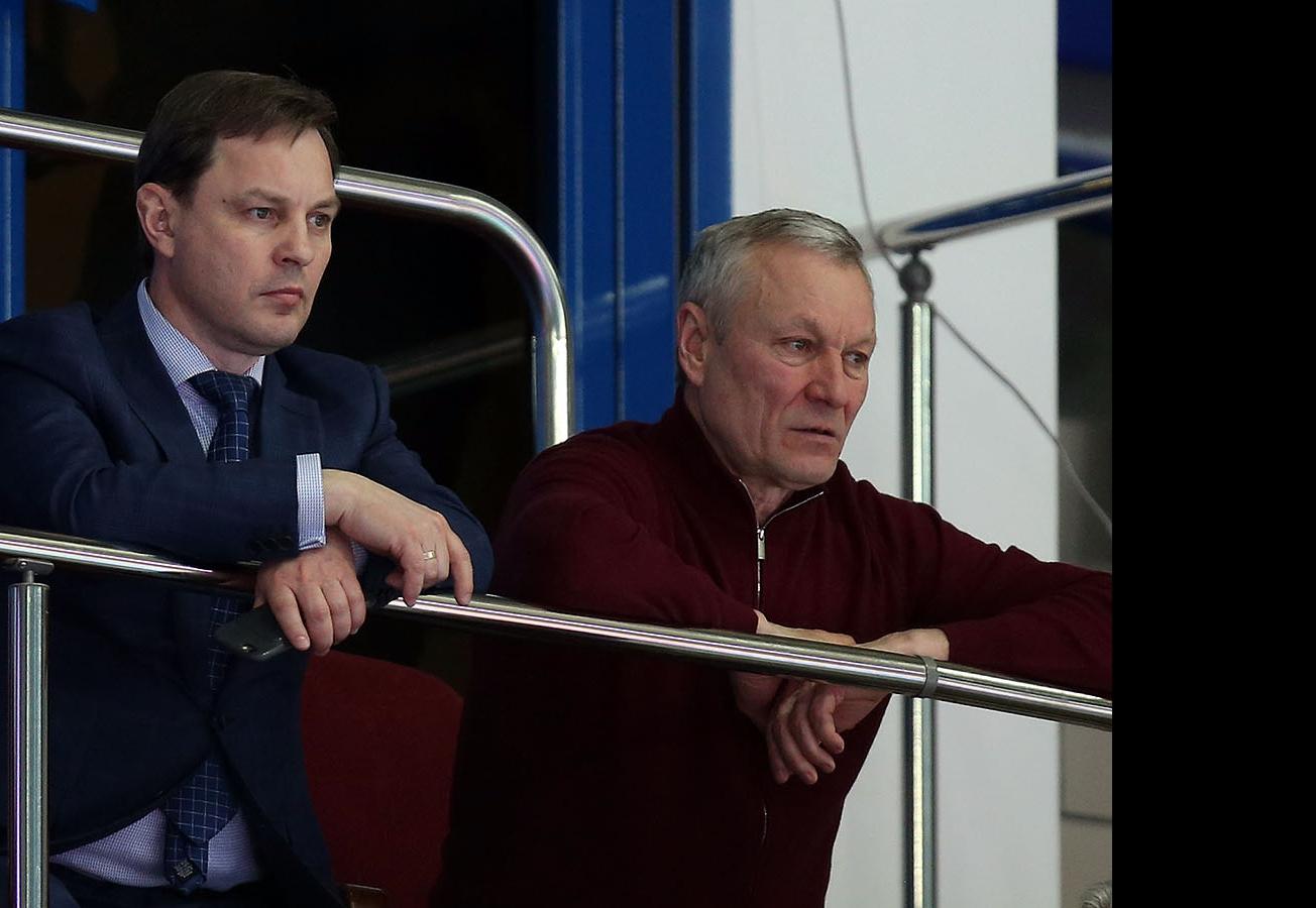 Олег Брызгалов и Ильхам Рахматуллин