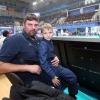Андрей Егорчев с сыном