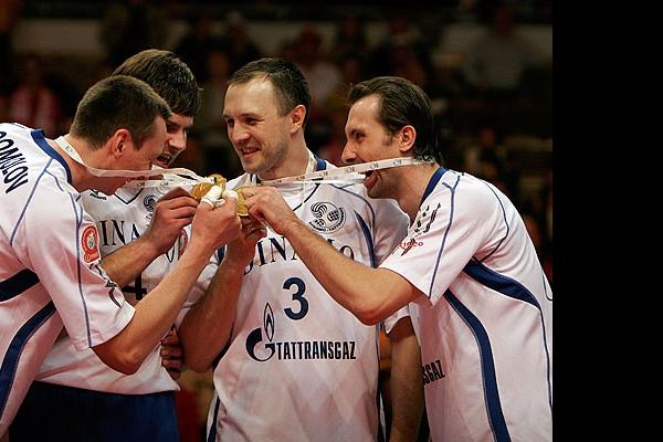 Александр Богомолов, Андрей Егорчев, Александр Косарев и Сергей Тетюхин