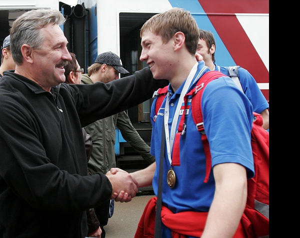 Юрий Кравцов и Алексей Обмочаев
