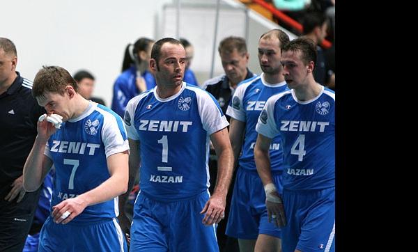 Зенит-Казань не смог пробиться в Финал четырёх