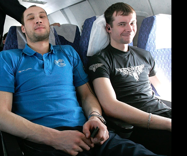 Алексей Черемисин с братом