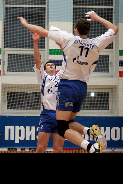 Павел Зайцев и Николай Апаликов