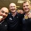 Юрий Трегубов, Рамис Шириязданов и Александр Cеребренников