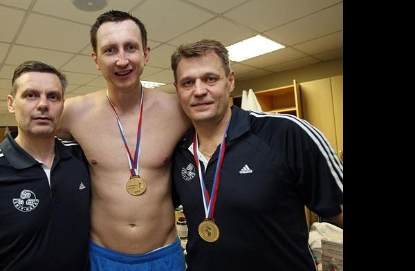 Сергей Алексеев, Александр Богомолов и Александр Cеребренников